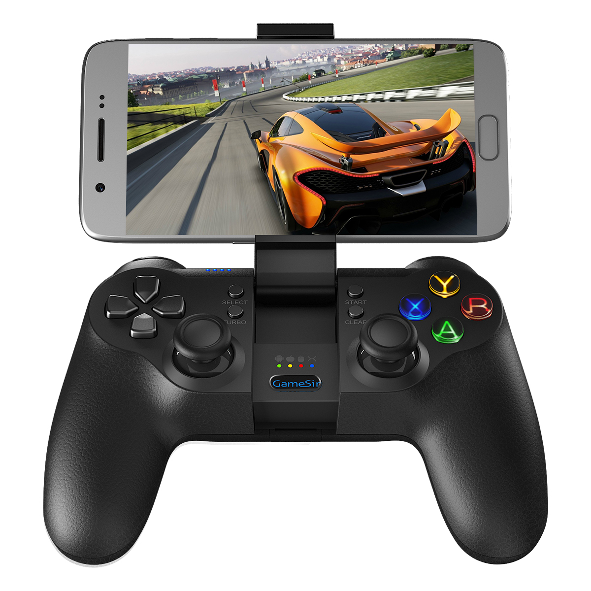 Portable 2.4G wireless gamepad bluetooth joystick for android smartphone
