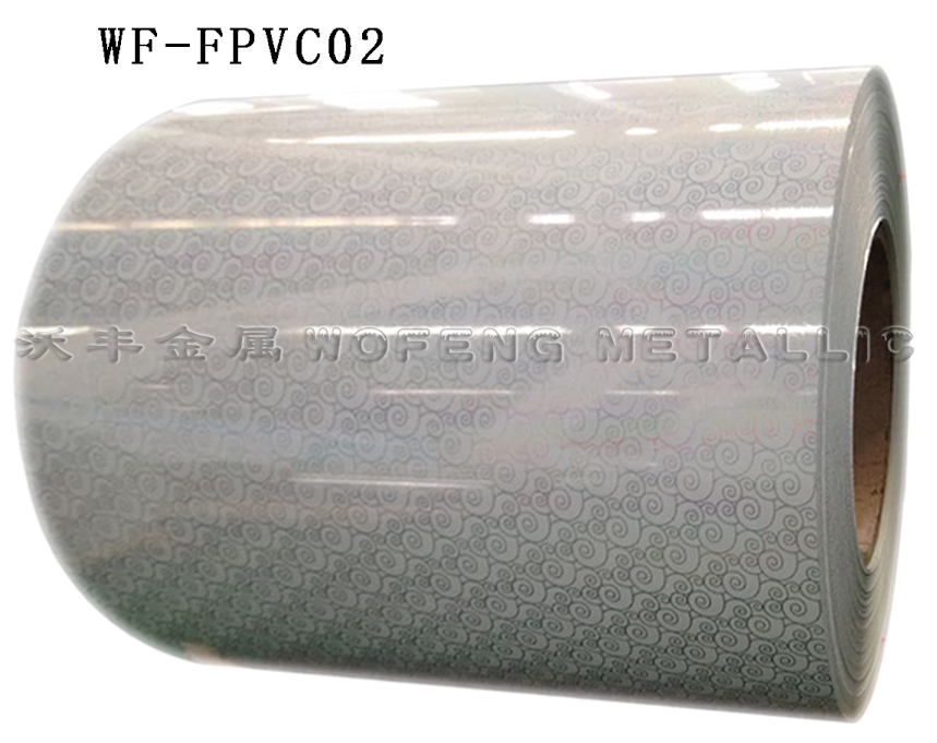 color coated metallic steel sheet for roofing material