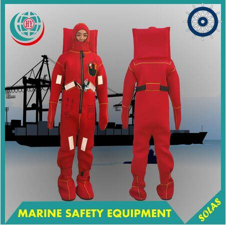 CE/MED approved marine insulated immersion suit