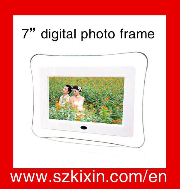 cheap  price and good quality digital photo frame k9070B