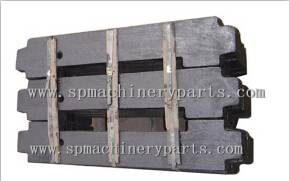 China gold supplier custom iron cast elevator filler weight in elevator parts