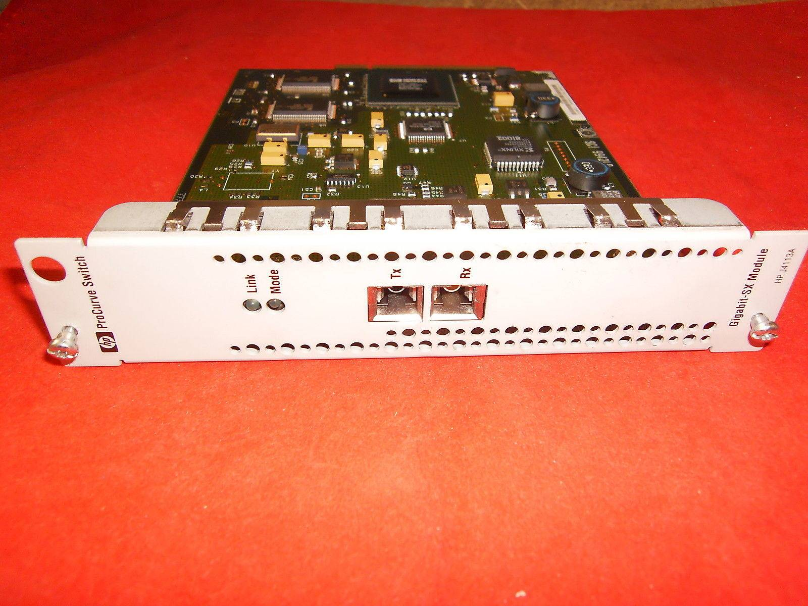 HP J4113A Fiber-Optic Gigabit-SX Module Card for ProCurve 4000M 8000M Switch