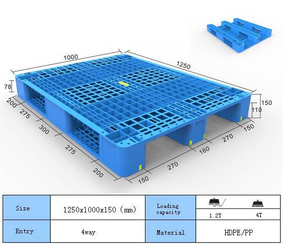 HDPE PP Plastic Pallet