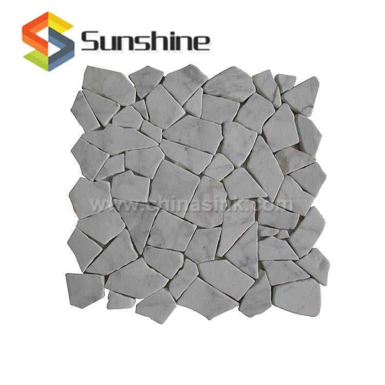 Bianco Carrara Marble Wall Mosaic Tile