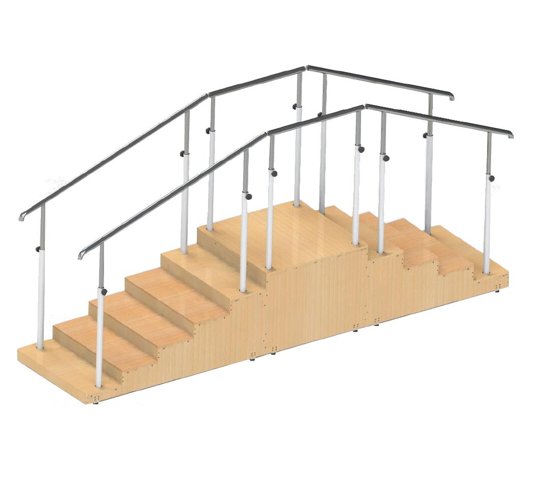 G-FTI-07 Rehabilitation Equipment Training Staircase