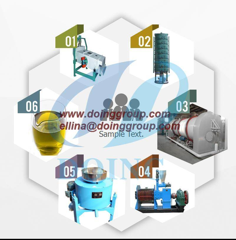 Corn seed oil processing machine for refinery