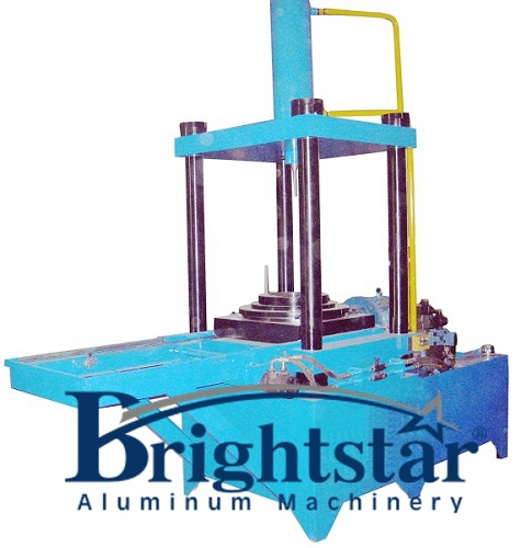 Vertical mould scrap extractor