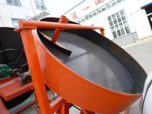 HOT suppling compound fertilizer disc pelletizer