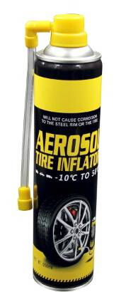 C650ml Aerosol Tire Inflator for Emergency Use