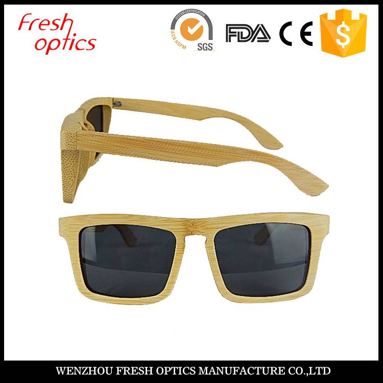 Luxury wooden&bamboo sunglasses Polarized lenses