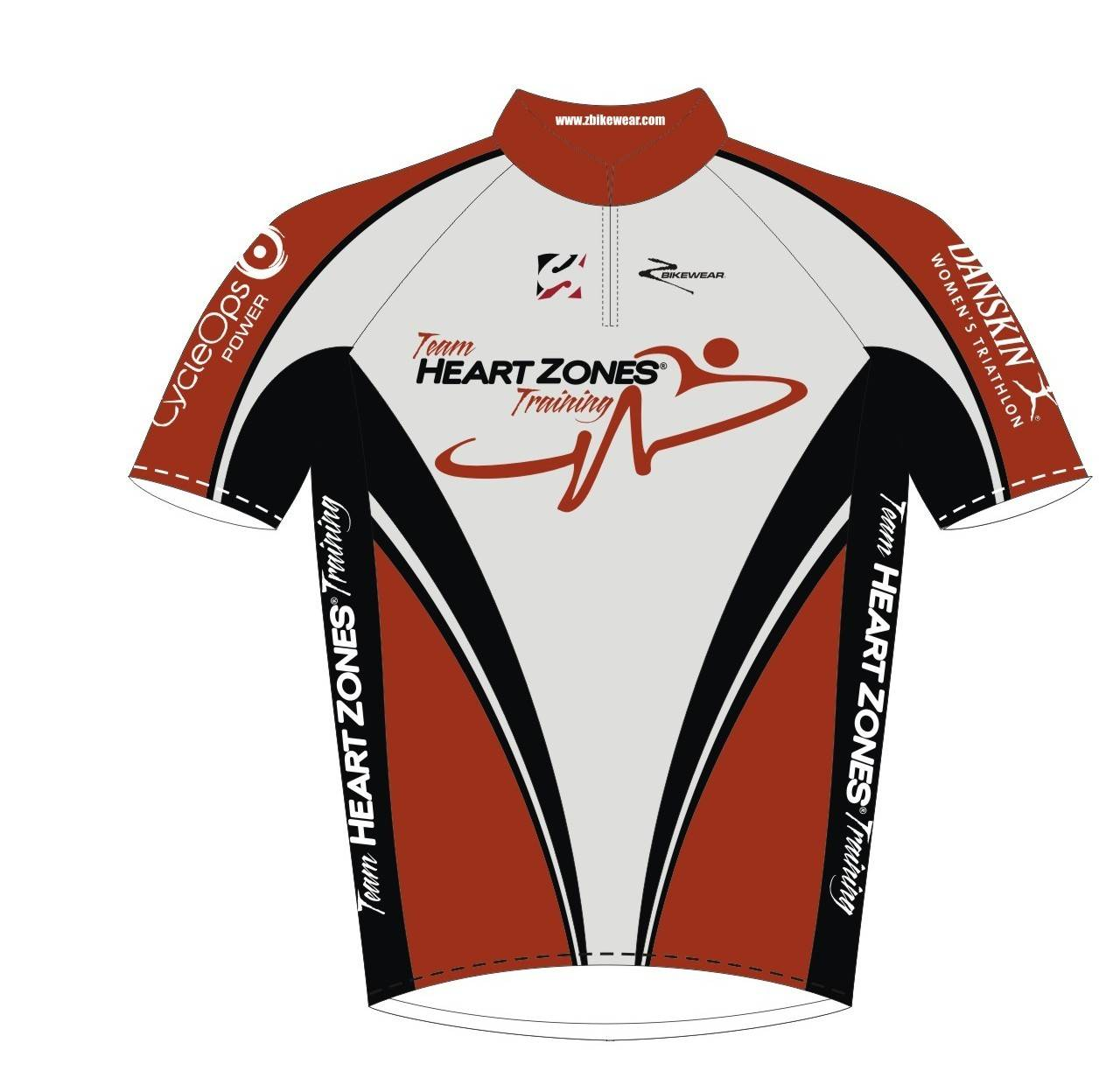 custom cycling jerseys with sublimation