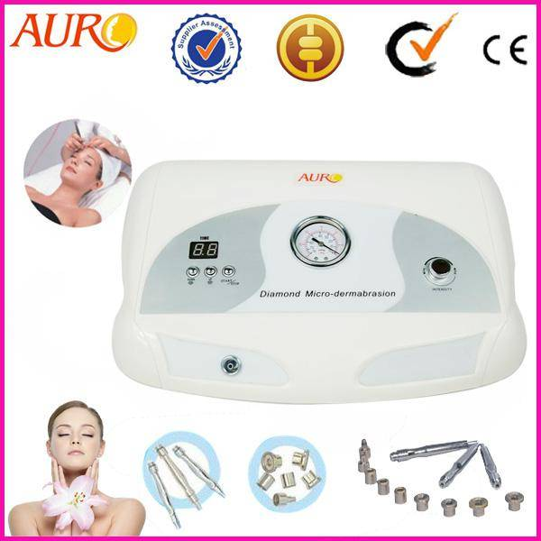 Professional diamond microdermabrasion machine used facial spa equipment with CE Au-3012