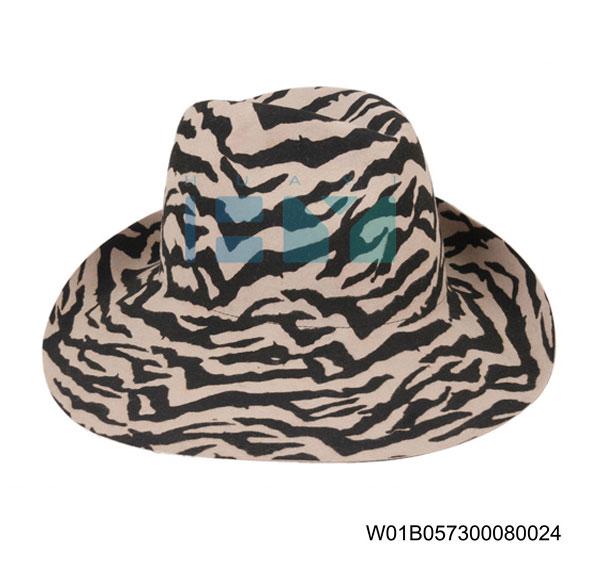 Wool Felt Homburg Hats