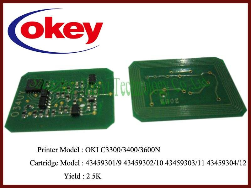 for OKI C3300 chip resetter C3300N/C3400/C3600/3530