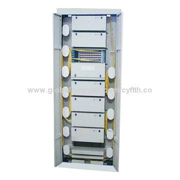 144C, 288C, 576C Indoor Telecom Fiber Optic Cabinet for Cable Storage and Distribution