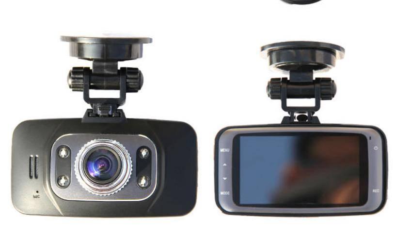 Car dvr black box built-in Microphone, GPS, recording travel speed, driving track, G-Sensor