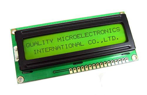 Character Type LCD Module