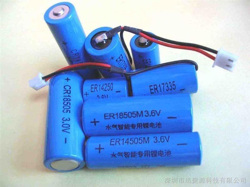 ER17335 3.6V 2000mah Industry lithium thionyl chloride battery/Li-SOCI2 Primary Lithium Battery