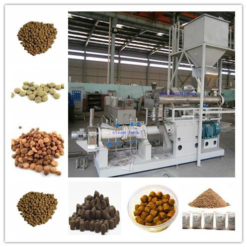Easy Operating Floating Fish Feed Processing Machine