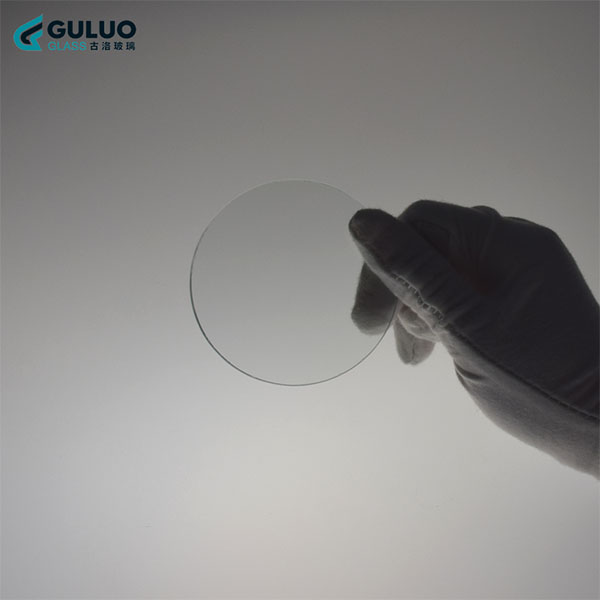 Custom madeD100x0.5mmThin Film Transistor glass substrate/ Processing round glass 50pcs Lab Glass