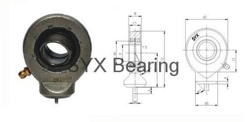 Rod end bearing GK10DO