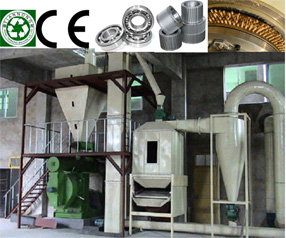 Complete Biomass Pelleting Line