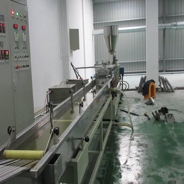 Silane Cross linked Polyethylene Cable materials granulator