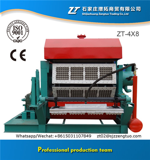 Hot sale in Egypt stable performance egg tray making machine