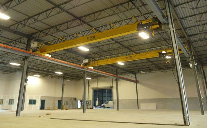 Electric Single Beam Bridge Crane