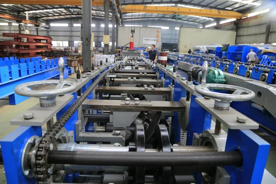 C60-150 Shaped Steel Roll Forming Machine
