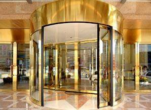 2 Wing Automatic Revolving Door