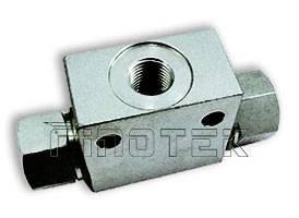 Shuttle Valve - 30l(8us gal)/min. flow, 350 -400bar pressure, hydraulic shuttle valves