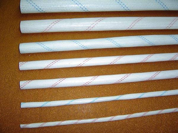 2715-Fiberglass sleeving coated with polyvinyl chloride resin