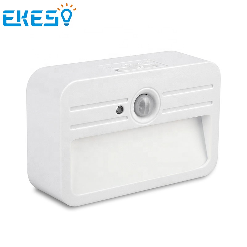 EKEST free sample 3AAA dry battery toilet kids wireless led motion sensor night light