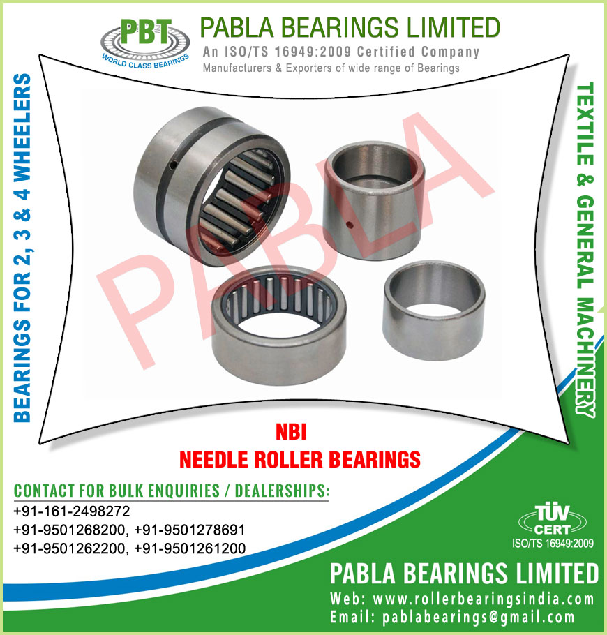 needle roller bearings manufacturers in India