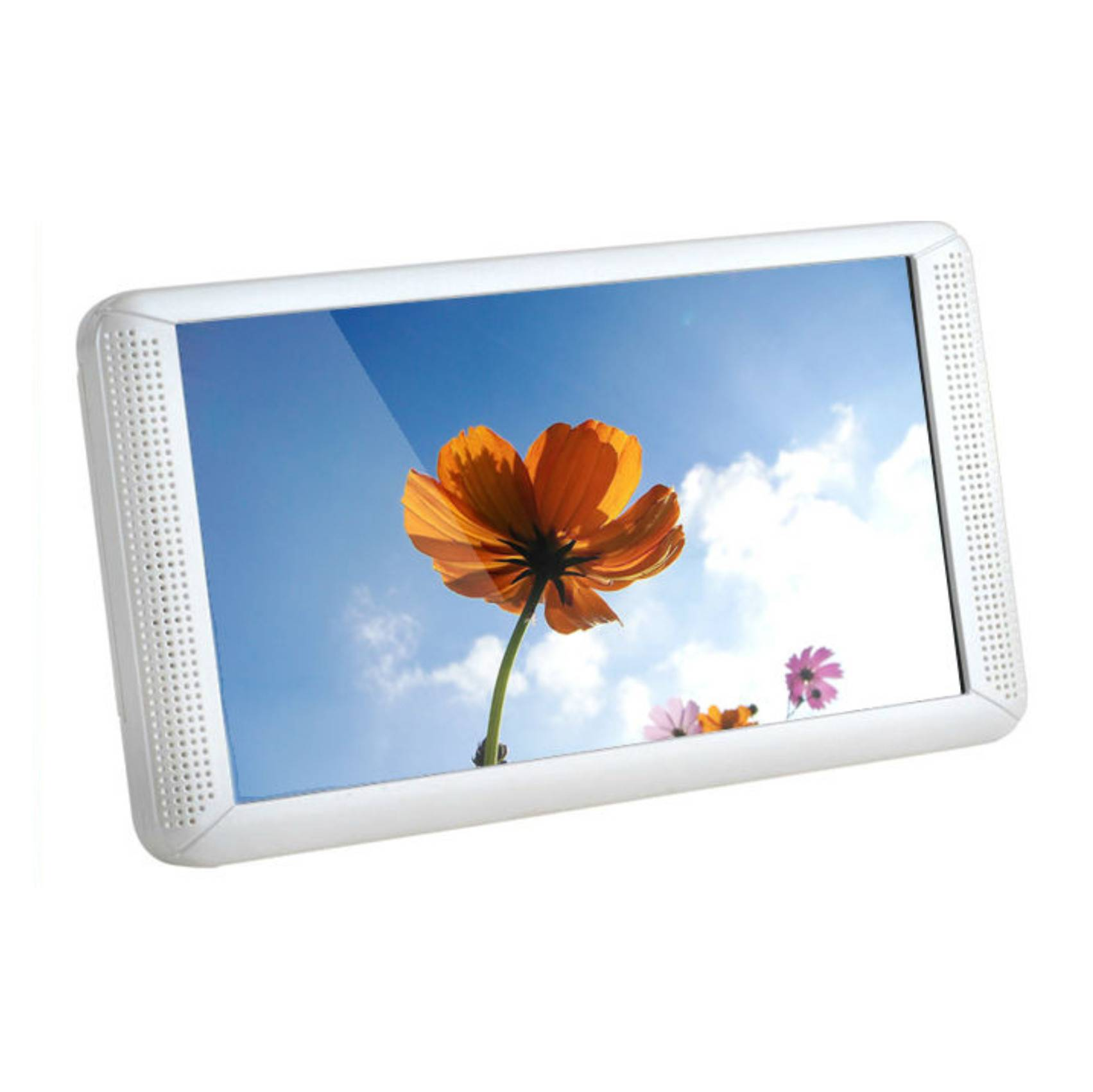 7inch Standard plastic shell wall/desk/shelf instalation LCD Advertising screen Hot Sales digital bi