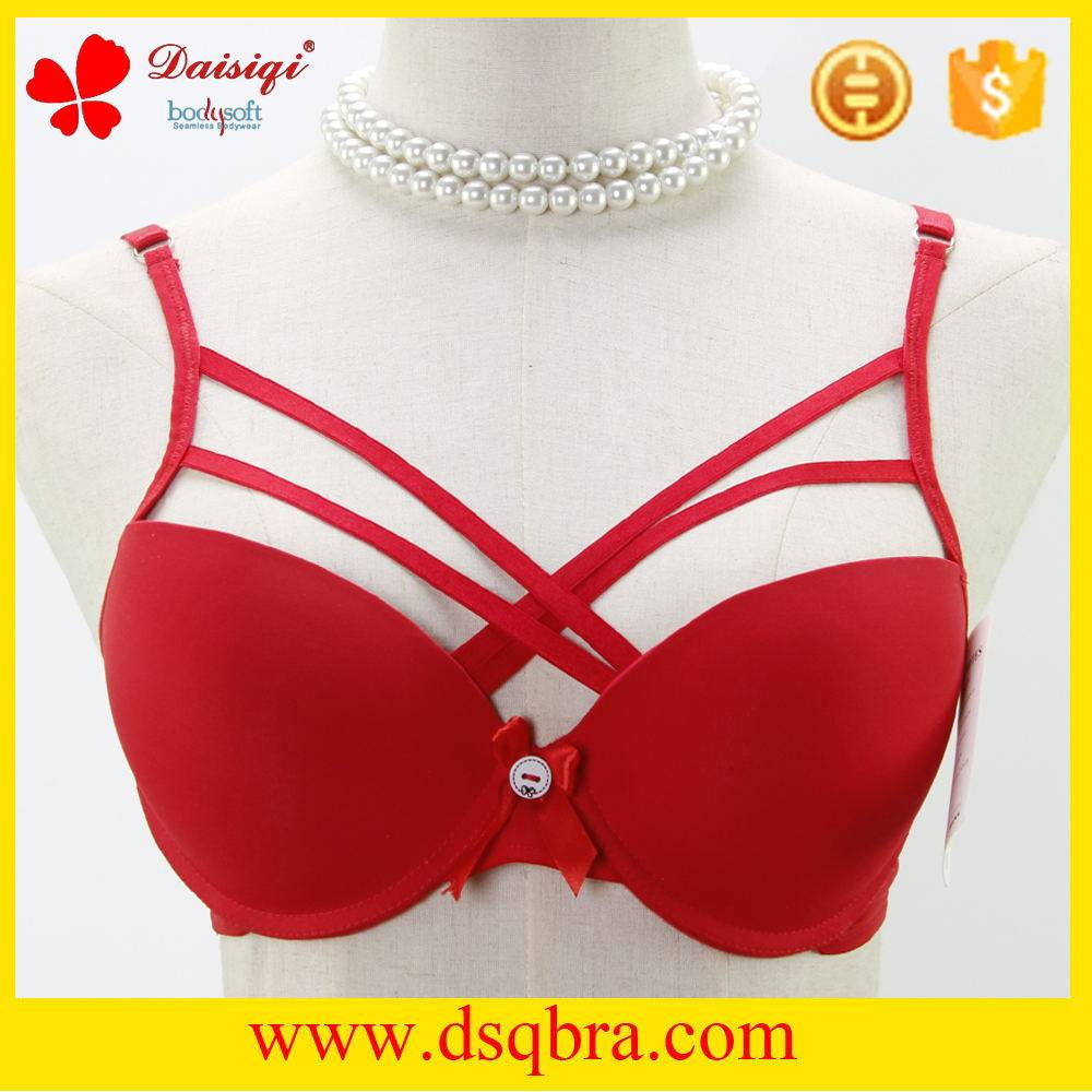 Hot sells newest design beautiful breast design women sexy bra underwear