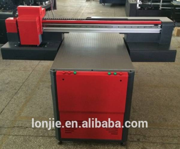 1 meter two head 8 color metal box uv printer