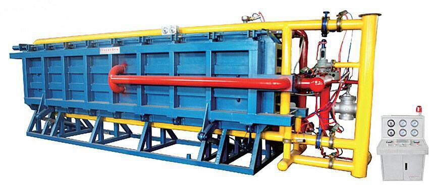 offer automatic eps block molding machine with air cooling