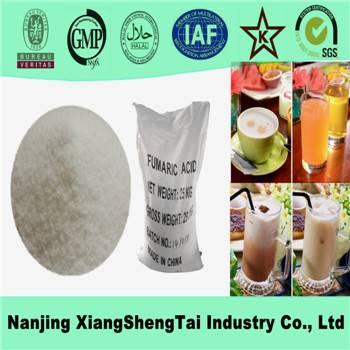 Cheap fumaric acid suppliers food garde cas No.: 110-17-8