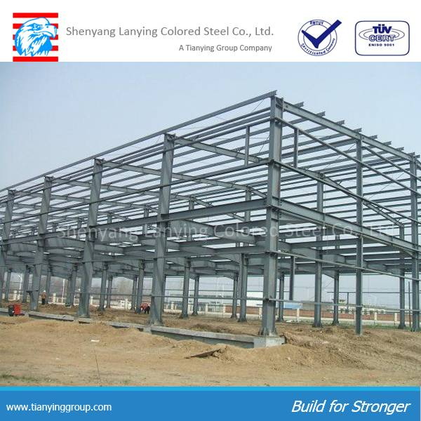 2016 high quality competitive price steel structure workshop