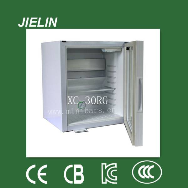 30L high quality  silent hotel absorption mini bar fridge