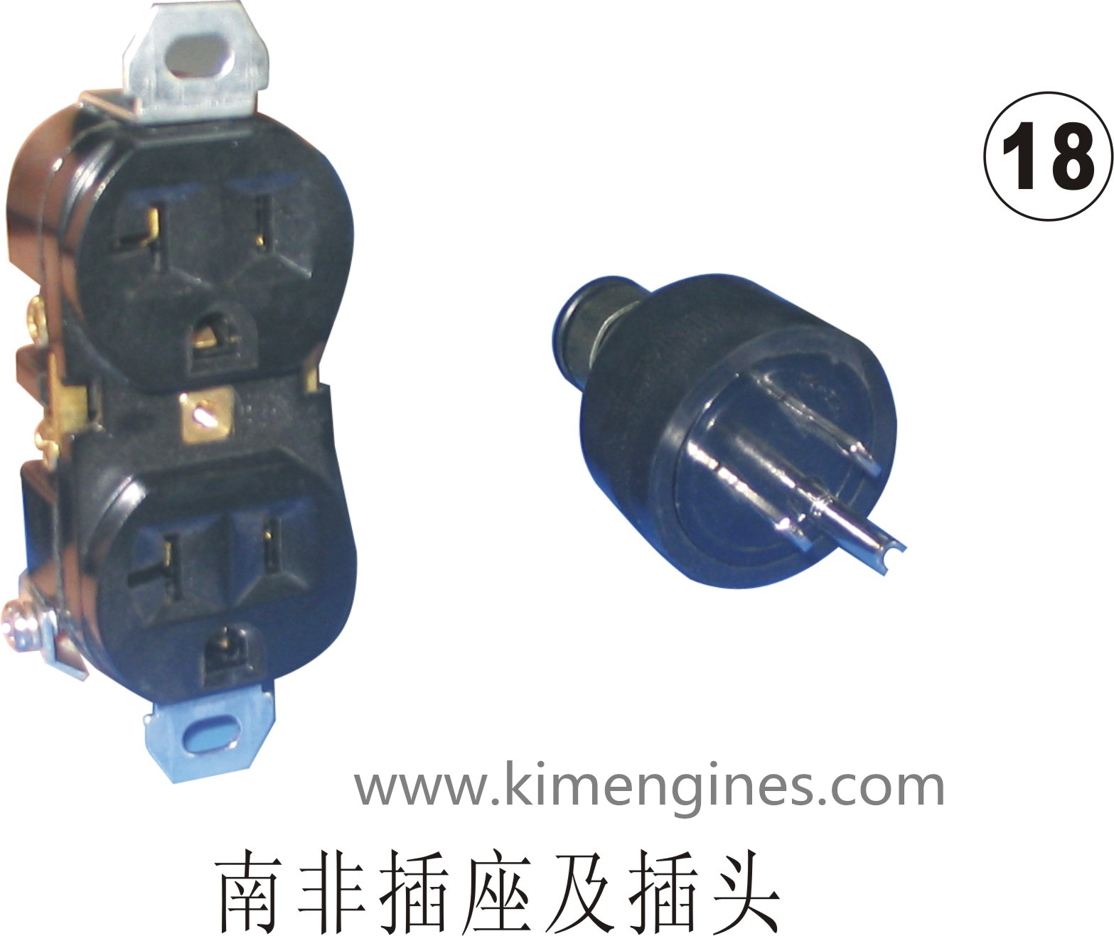 Plug / socket for GX120, GX160-200, GX240-420 generatror