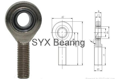 Rod end bearing SA17ET-2RS