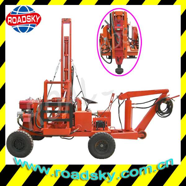 Hydraulic Road Safety Guardrail Pile Driver for Sale