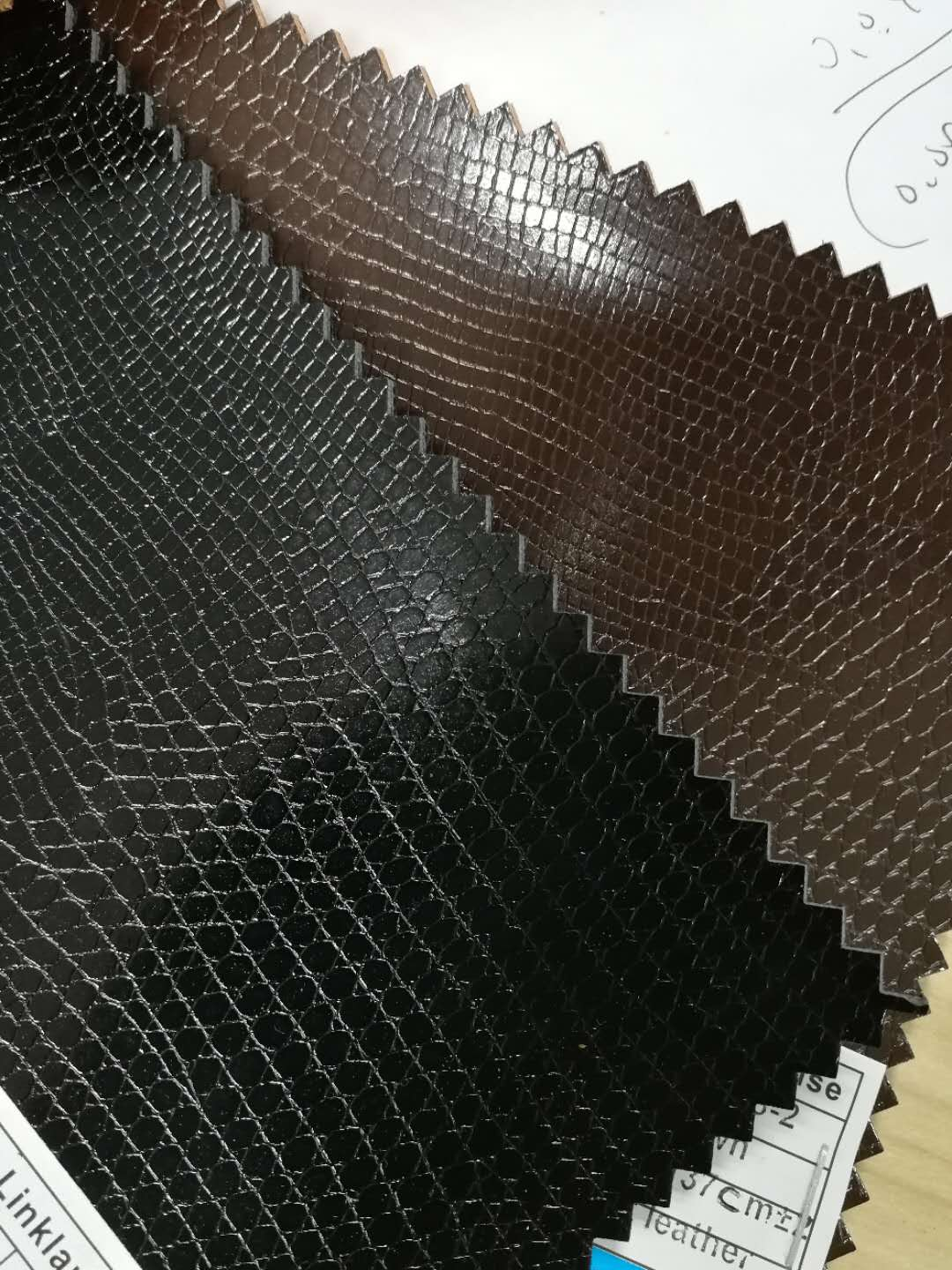 Embossed Synthetic Leather for Belt(LK-B6008)