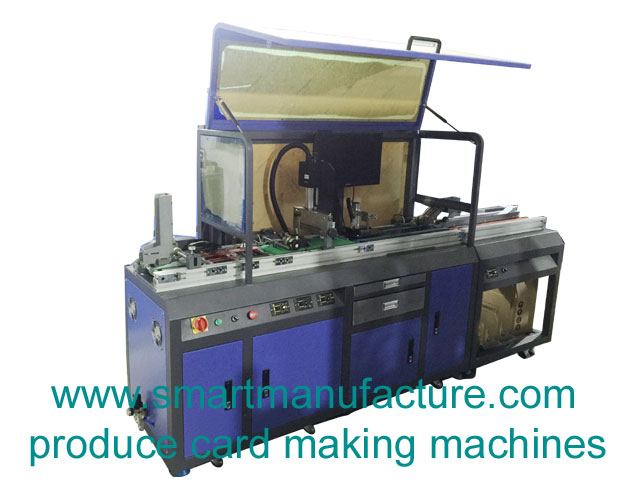 SMCE-1 Full Automatic Card Personalization Machine