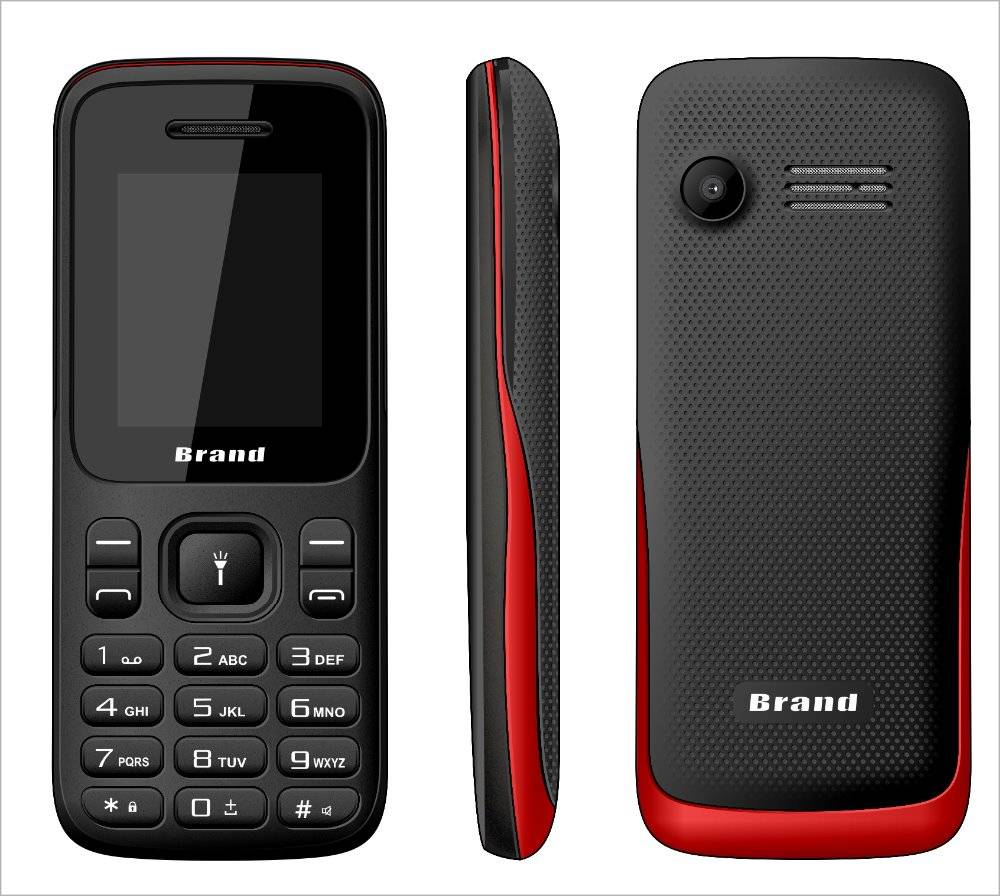 K209 Mobile phone 1.8inch Low end feature phone dual sim cards support whatsapp