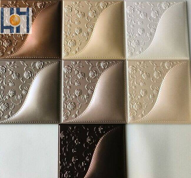 2015 home decor 3d embossed wall panel