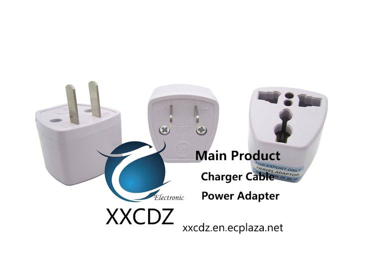 American AC Electrical Socket Converter Adapter usa outlet plug convertor Flat Pins Canada to uk eur